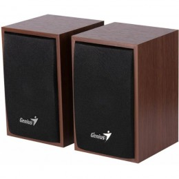 Динамики компьютерные Genius SP-HF160 2.0 speaker Wood. (DR31731063101)